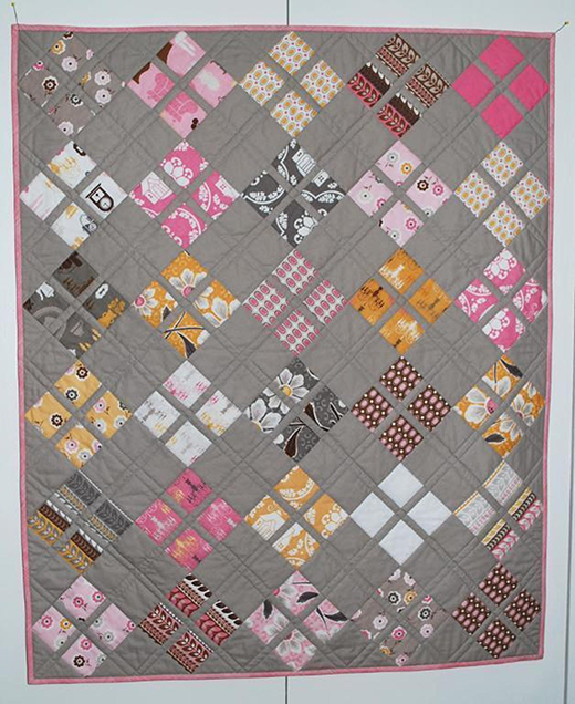 Daisy Baby Quilt Free Pattern