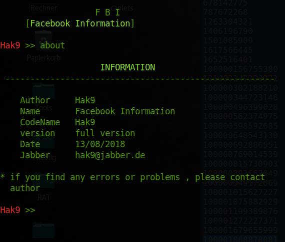الحصول على معلومات اي شخص على الفيسبوك ارقام هواتف واميلات المخفيه