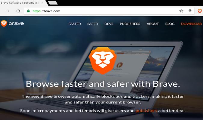 Web Browser Terbaik di Tahun 2019 - Brave