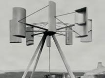A turbina construída em 1895  para o Asilo Lunático Montrose
