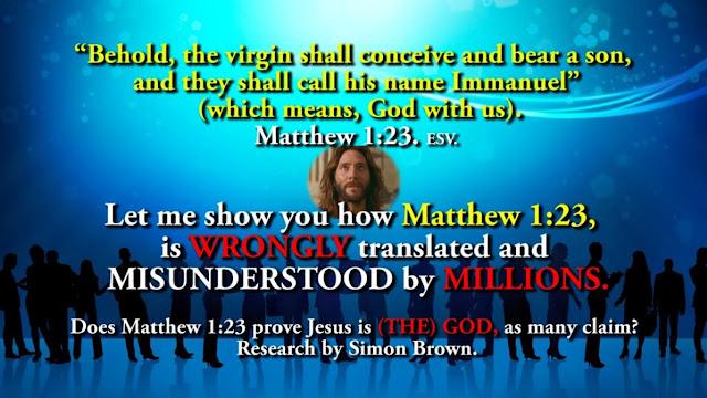 Matthew 1:23,
