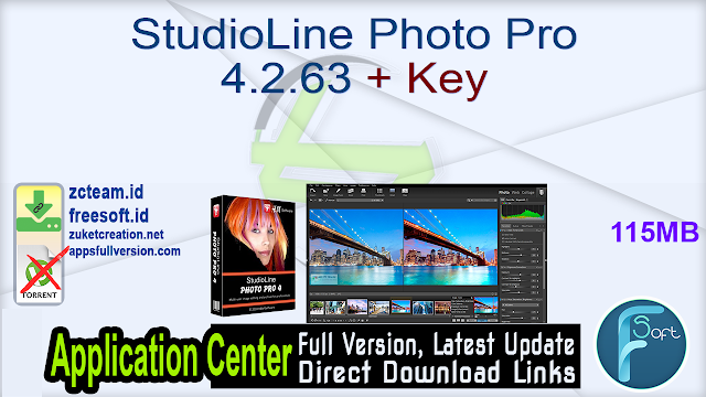 StudioLine Photo Pro 4.2.63 + Key_ ZcTeam.id
