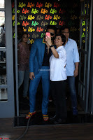 Ranveer Singh in Blue Blazer Spotted Life Bar ~  Exclusive 17.JPG