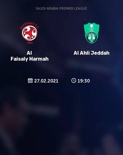 بث مباشر مباراة الاهلي السعودي والفيصلي