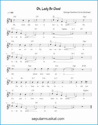 oh lady be good lagu jazz standar