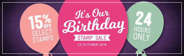 Stampin' Up! 24 Hours Stamp SALE. 15% Off Selected Stamps from Mitosu Crafts UK Online Shop