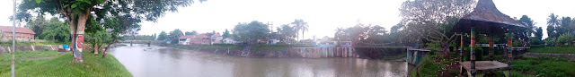 Jembatan Gantung Desa Kopen Kecamatan Genteng