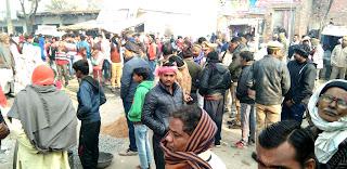 शरारती तत्वों ने तोड़ी अंबेडकर प्रतिमा, ग्रामीण आक्रोशित   #NayaSaberaNetwork