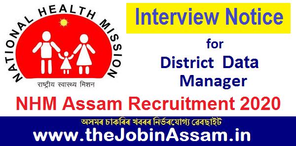 NHM, Assam Interview Notice 2020