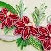 Paper Quilling  How to make a Beautiful flower ,Orchids with a paper strips