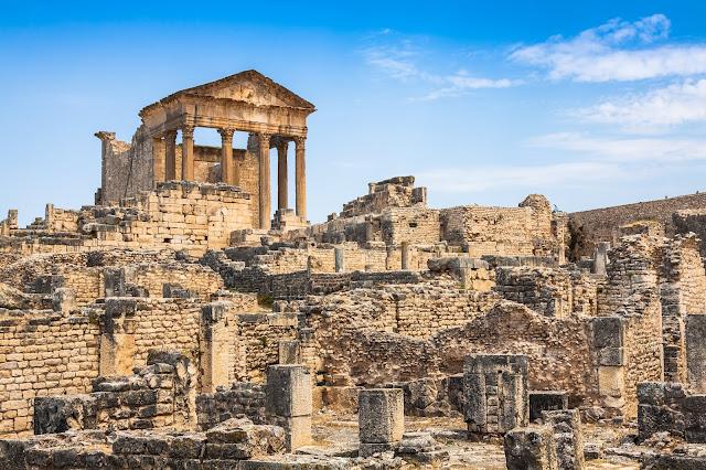 Дугга, римские руины в Тунисе