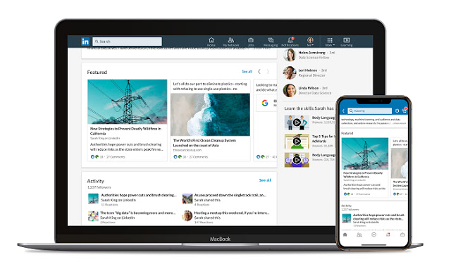 Linkedin Introduces' Featured' Highlighting Part of Your Achievements #Article