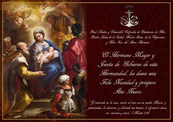Felicitación de Navidad la Hermandad de La Cigarreras de Cádiz