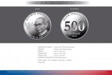 uang baru nkri pecahan 500 logam