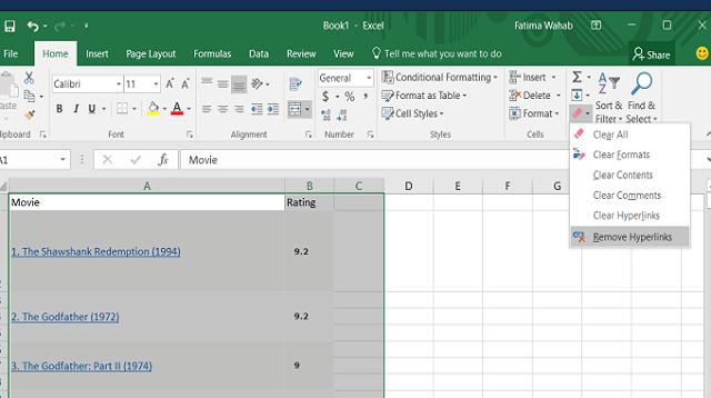 Cara Membuat Hyperlink di Excel