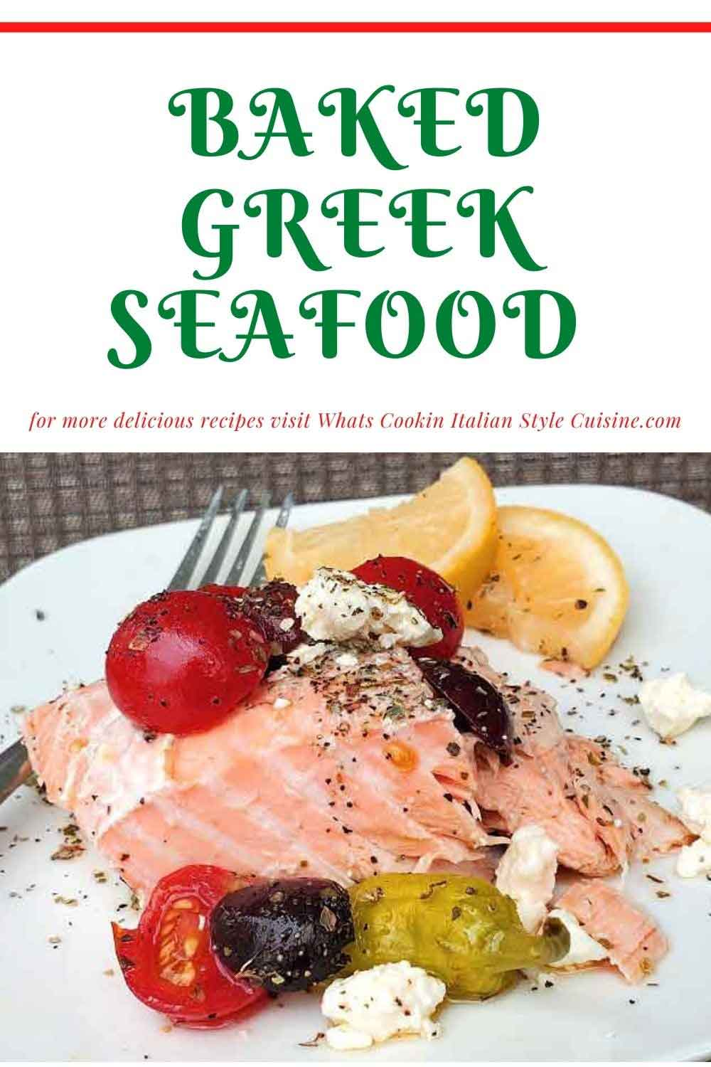 pin for later how to make Greek Salmon