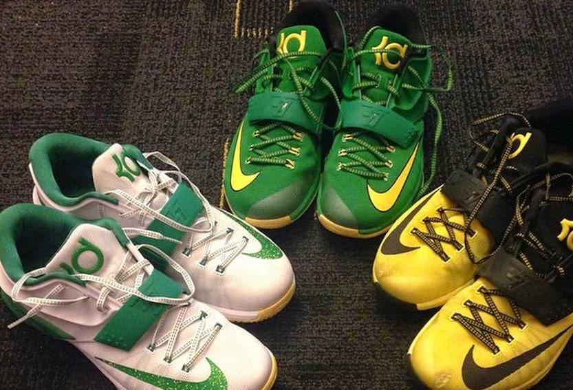 THE SNEAKER ADDICT  Nike KD 7 Oregon Ducks PE