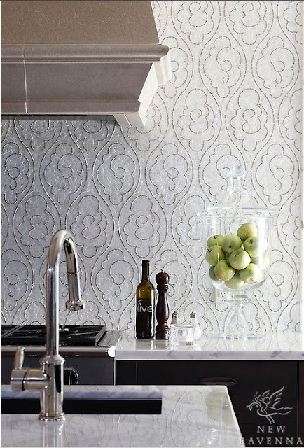 new ravenna tile kitchen photos gray and white kitchen