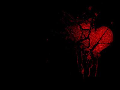 صور قلوب رومانسية خلفية سوداء حلوة