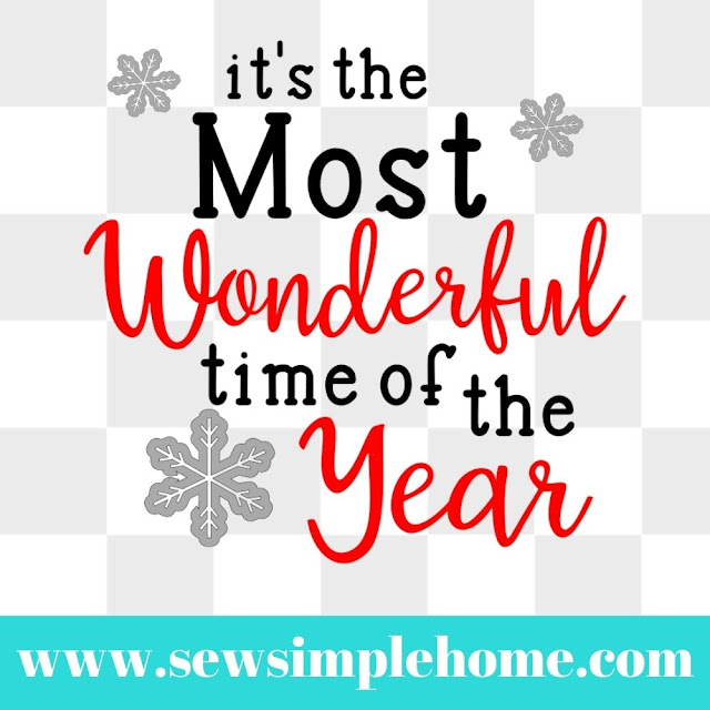 it's the most wonderful time of the year svg