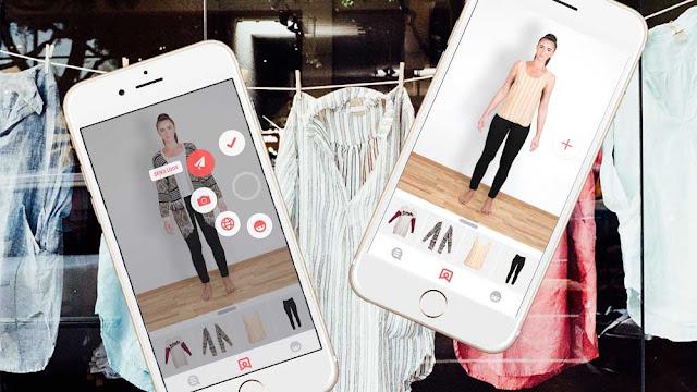حمل تطبيق Pictofit لجهازك الأندرويد , Pictofit apk , تطبيق مدهش لتجربة الأزياء على صورتك قبل شرائها لأختيار الأفضل والألوان الأنسب رائع جدا  , تجربة الملابس عليك من خلال تطبيق Pictofit , عالم التقنيات , بسام خربوطلي