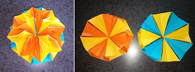 Origami project - discovered here: https://www.pinterest.com.au/pin/143974519324989570/