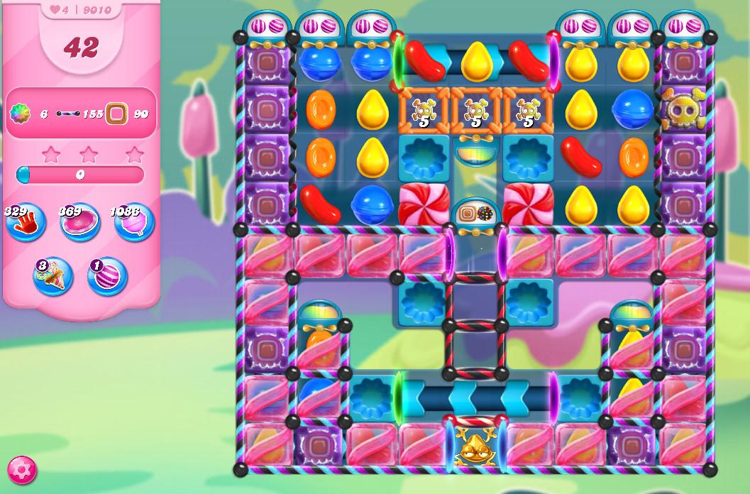 Candy Crush Saga level 9010