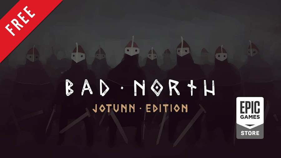 bad north jotunn edition free pc game epic games store viking real-time strategy plausible concept raw fury