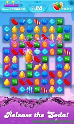 تحميل لعبة Candy Crush Soda Saga APK  احدث اصدار - غير محدودة