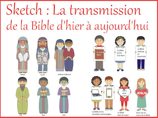 SKETCH TRANSMISSION DE LA BIBLE