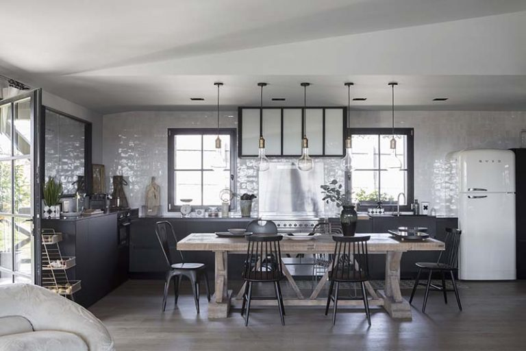 Cécile Simeone's beautiful house in Lyon, France