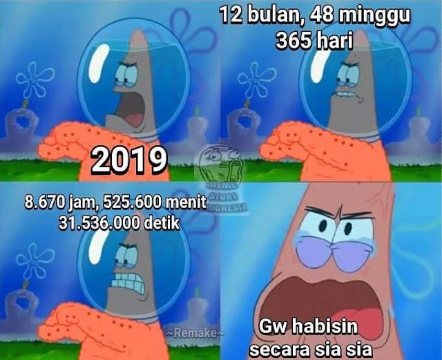 Meme tahun baru 2020