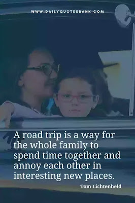 Read inspirational quotes about family vacations. Also check family trip quotes, quotes on vacation with family, quotes about family trip.