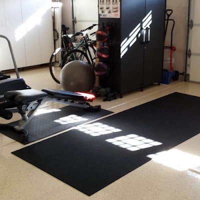 Greatmats rubber flooring garage gym