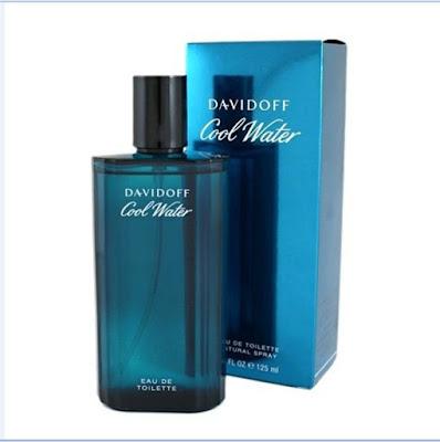Nama parfum pria terlaris 2018 Davidoff Cool Water