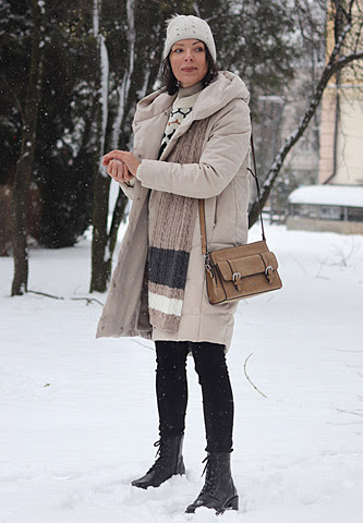 zimowe stylizacje minimalissmo