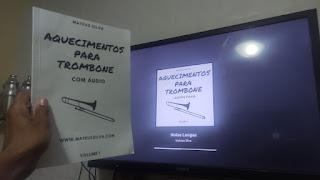 Aquecimentos para Trombone Mateus Silva