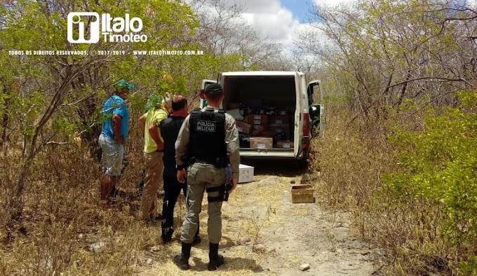Bandidos roubam carro de produtos da Natura e sequestram entregador no Distrito de Piau