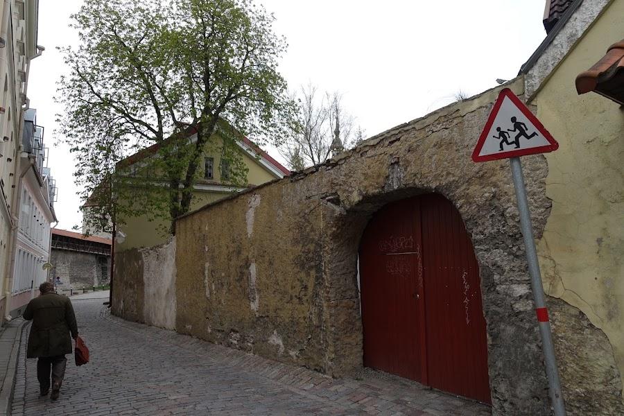 Väike-Kloostri通り