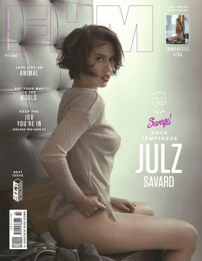 Download Julz Savard FHM Magazine Philippines February 2017 PDF