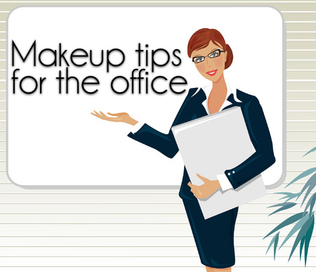 What is appropriate makeup for work?