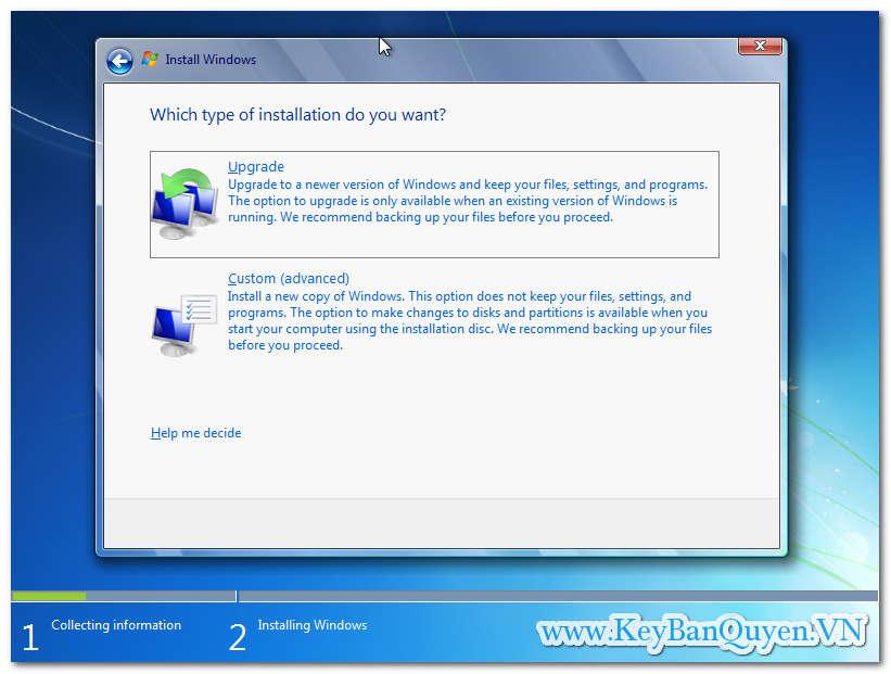 Hướng dẫn cài đặt Windows 7 HOME theo chuẩn UEFI - GPT mới nhất.