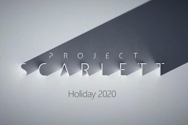Microsoft's 'Project Scarlett' Xbox