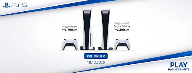 Preorder PlayStation 5
