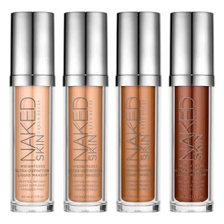 Peluruhan Urban Naked Skin Weightless Ultra Definition Liquid Makeup