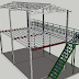 Thi công sàn nhẹ cemboard, Duraflex  kết hợp nhà khung thép.