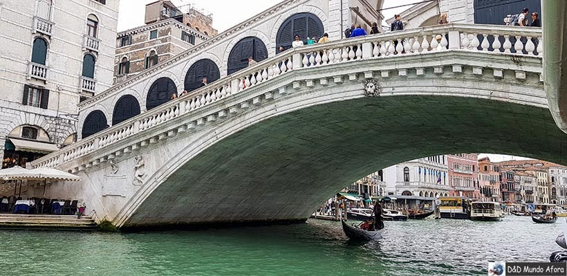 Ponte Rialto - O que fazer em Veneza