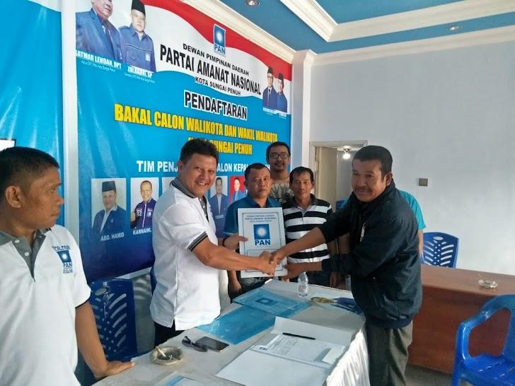 Tiga Bakal Calon Walikota Ambil Formulir di DPD PAN Sungaipenuh