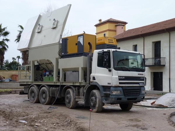 camion sabbia cemento