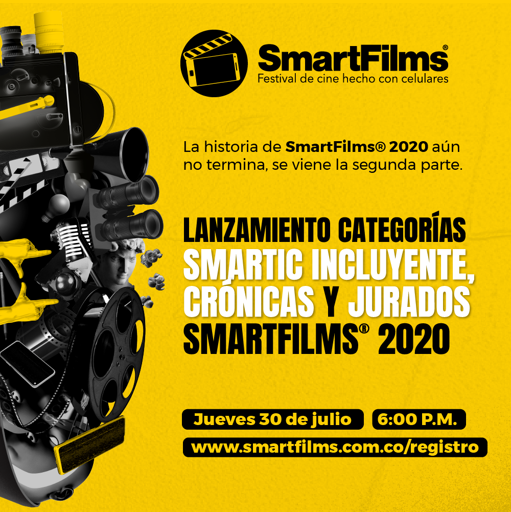 Smartfilms da a conocer dos nuevas categorías y anuncia los jurados invitados de la sexta versión